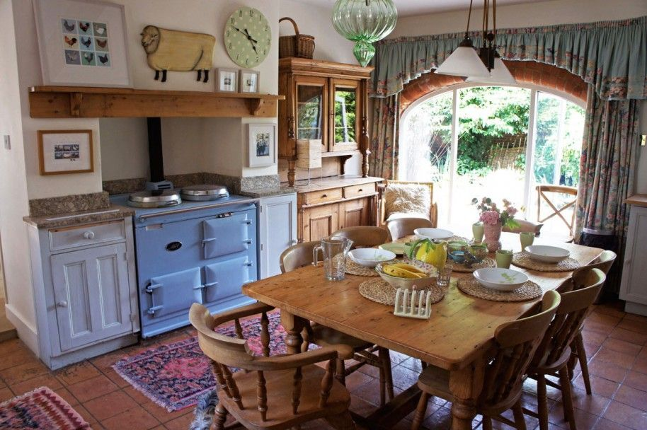 French Country Kitchen Bring Rustic Style In Your Home Charming