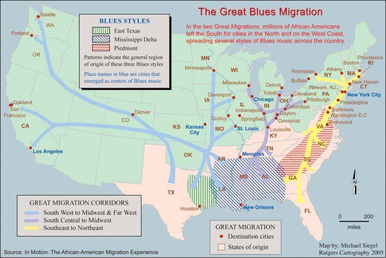 Image result for mississippi delta blues map | Rock On | Pinterest ...