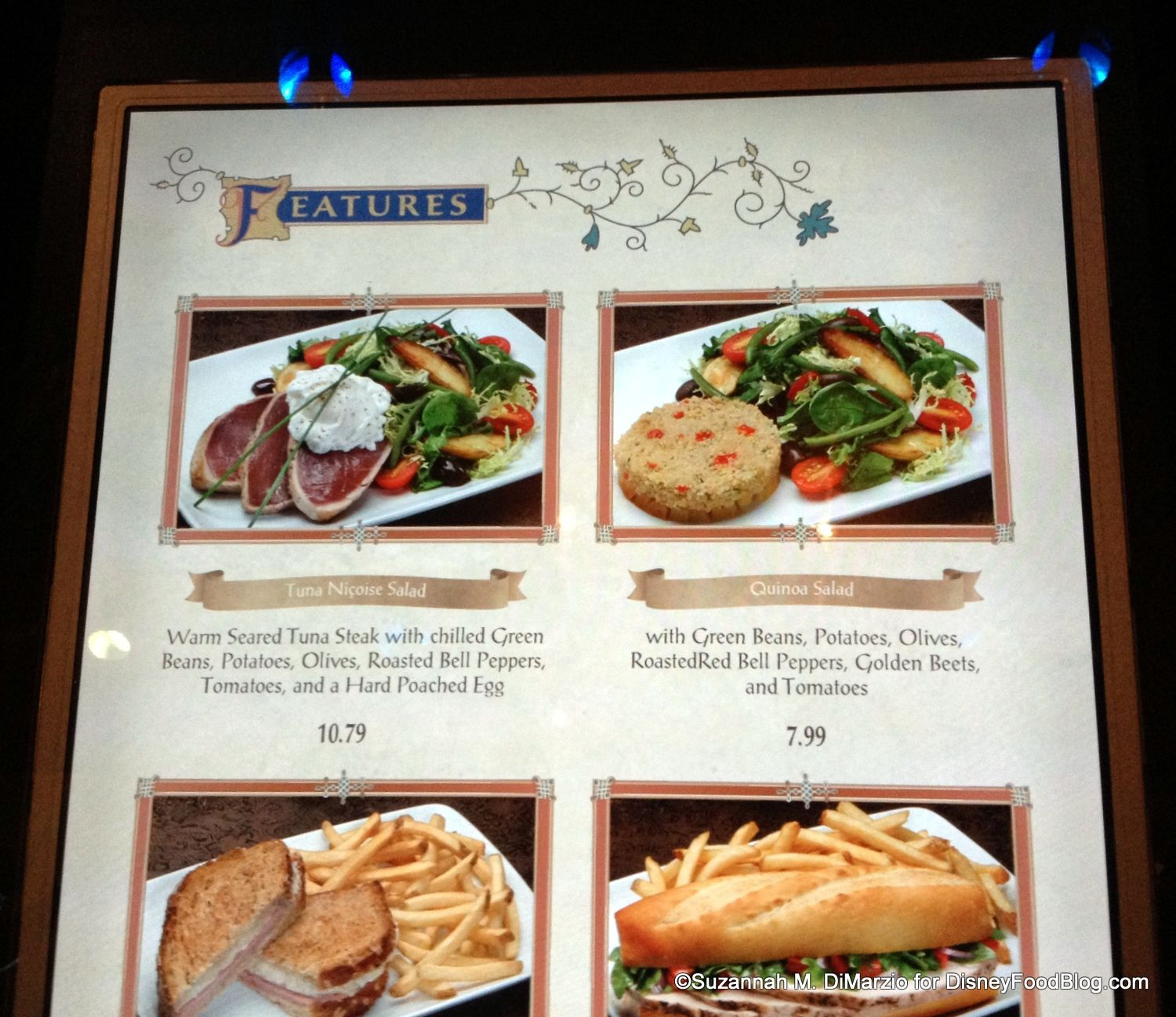 Be Our Guest Restaurant Lunch Review with menu and great