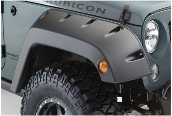 Free Shipping On Bushwacker From Rubitrux With Images Fender Flares Jeep Wrangler Accessories Jeep Wrangler Fenders