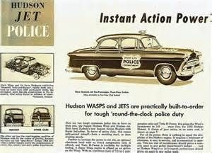 Hudson Jet And Wasp Police Car Brochure A Super Wasp Engine Is