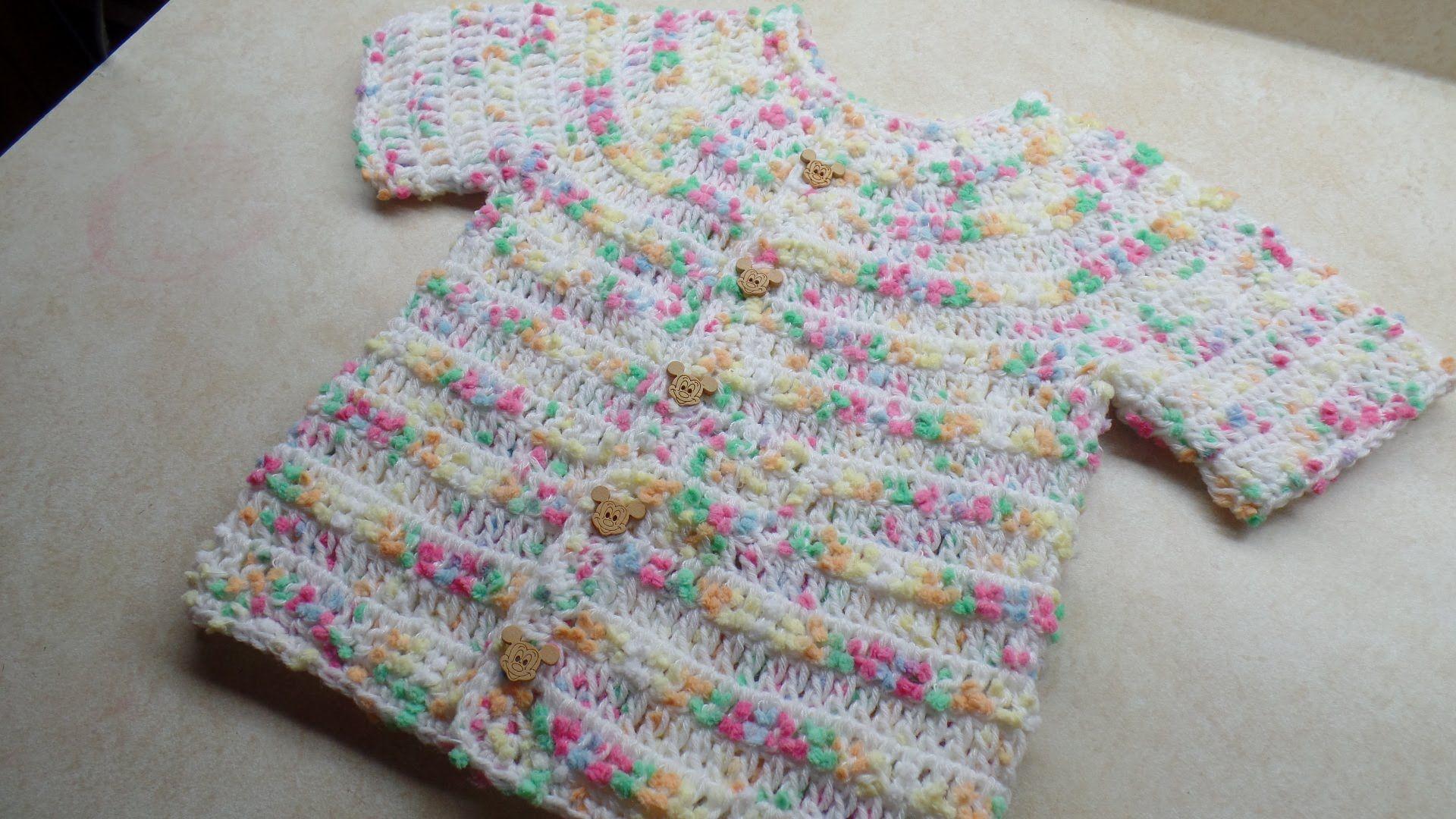 CROCHET How to #Crochet Easy Toddler shirt sweater #TUTORIAL #245 ...