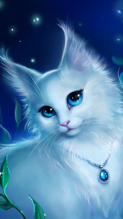 Download Kitty Wallpaper By Lee Loo F2 Free On Zedge Now Browse Millions Of Popular Animal Wallpapers And Ringt Cute Animal Drawings Cat Art Cute Animals
