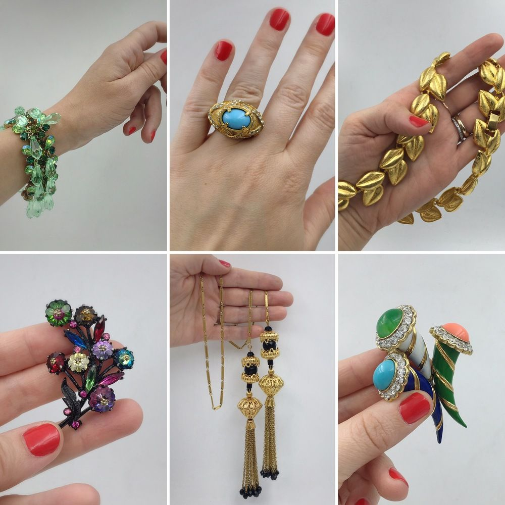 Reverie Vintage and Antique Jewelry in NYC vintage designer costume