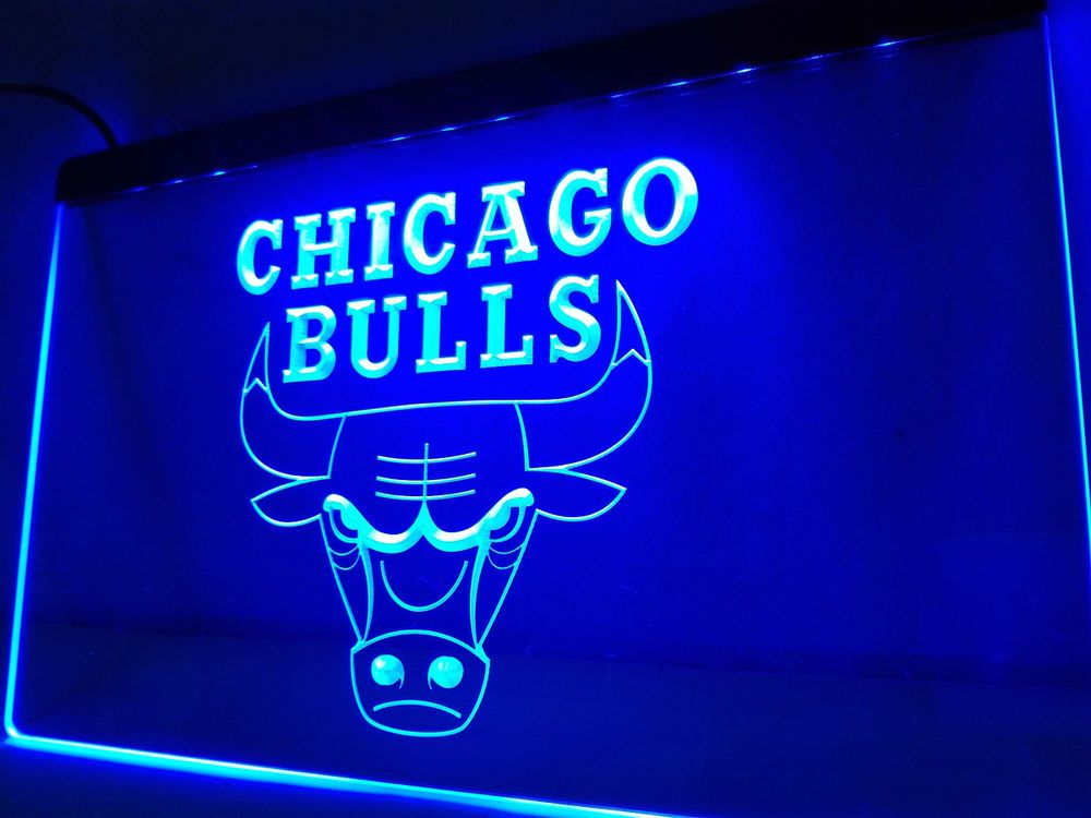 Led Sign Home Decor Amazing Ld004 Bulls Sport Bar Led Neon Light Sign Home Decor Crafts Man Design Inspiration
