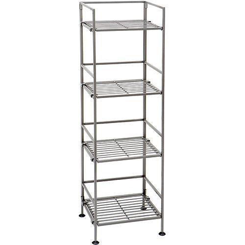 Walmart Utility Shelves Seville Classics 4Tier Shelf  Walmart  Dorm Stuff
