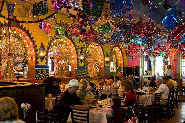 Lunch Today Mi Tierra Market Square San Antonio The Decorations Are Fabulous