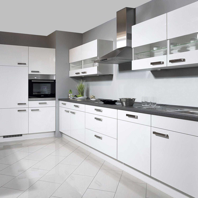 nobilia einbauk che flash in wei k che pinterest. Black Bedroom Furniture Sets. Home Design Ideas