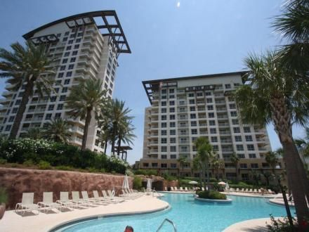 Luau Towers At Sandestin Beach Golf Resort In Destin Florida Is A Beachfron