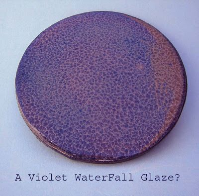 Lets Talk Wood A Purple Waterfall Glaze Cer 193 Mica