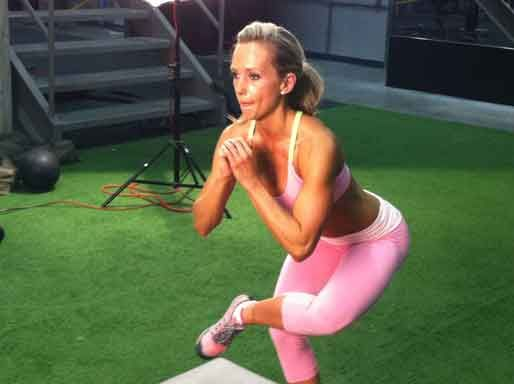 Check out this great post workout stretch. Like, Share and Click to read more =>    http://www.flaviliciousfitness.com/blog/2013/01/09/best-butt-stretch/