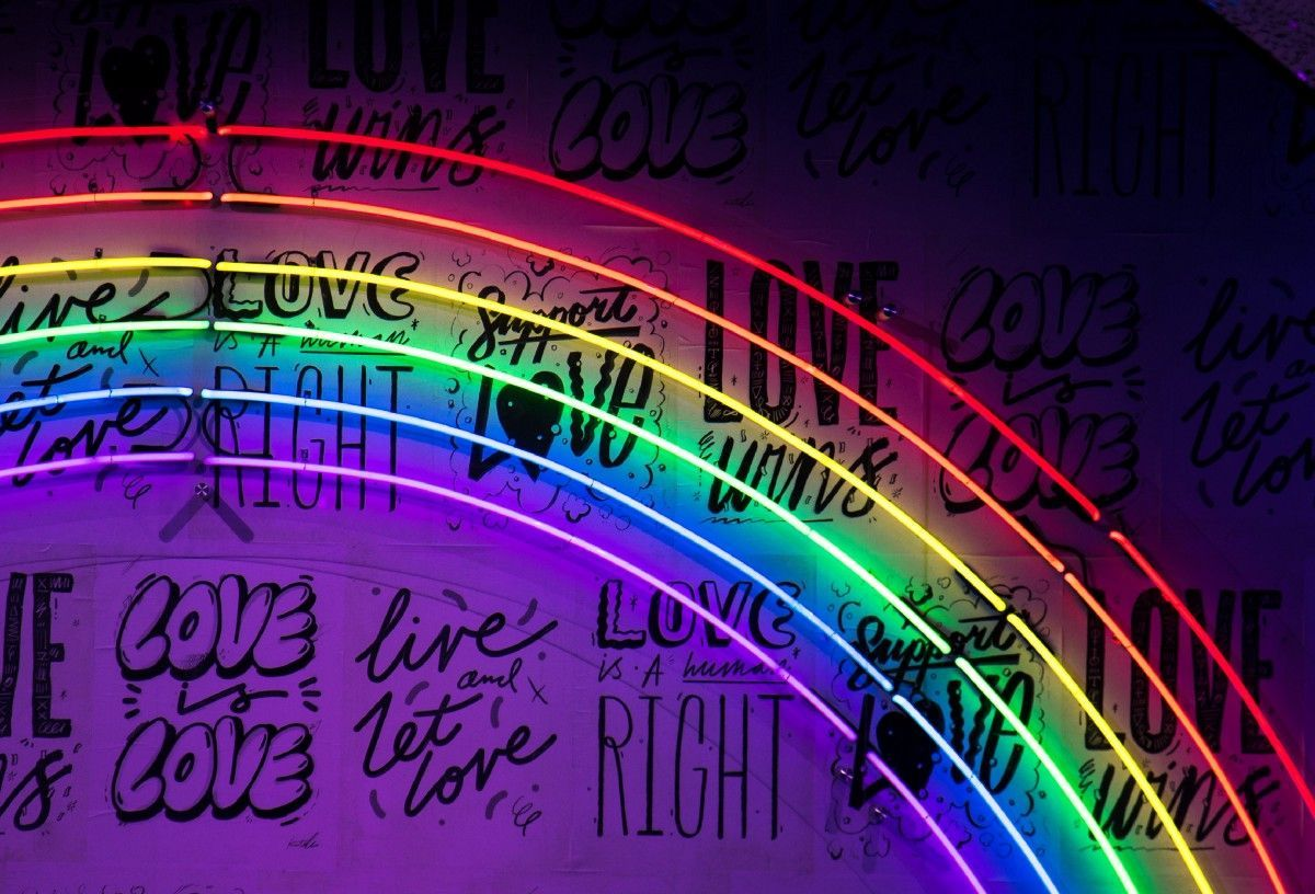 Pride Month Is Here Follow Along With These Epic Lgbtq Content Creators Neon Wallpaper Computer Wallpaper Desktop Wallpapers Laptop Wallpaper Desktop Wallpapers