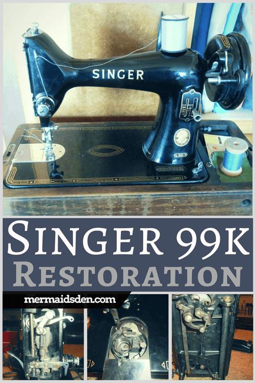 Jun 40 Vintage Singer 40k Sewing Machine Cleaning Restoring And Enchanting Troubleshooting Singer Sewing Machine