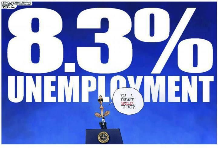 42 consecutive months of unemployment over 8%. The highest since the great depression. http://www.politifact.com/truth-o-meter/statements/2010/jul/13/ed-gillespie/gillespie-touts-bush-record-taxes-job-creation/