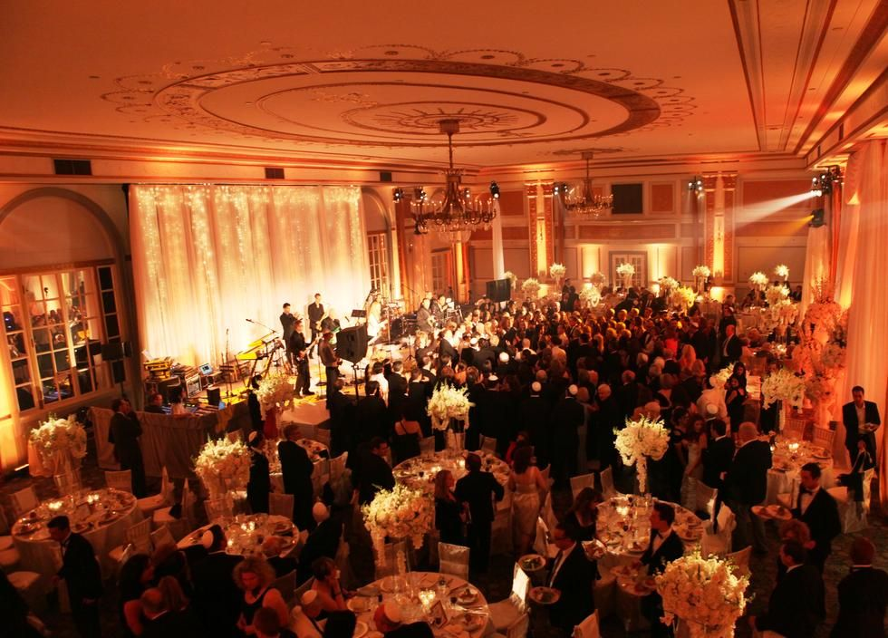 Le Windsor Montreal Stage Backdrop Reception Decortable Scape