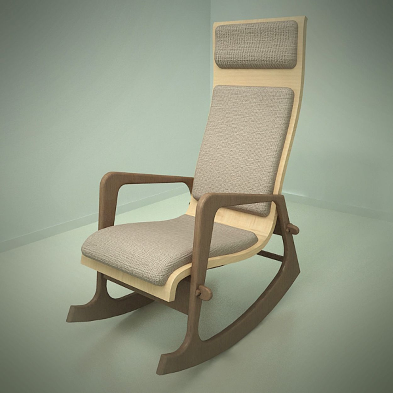 ... more of my rocking chair.