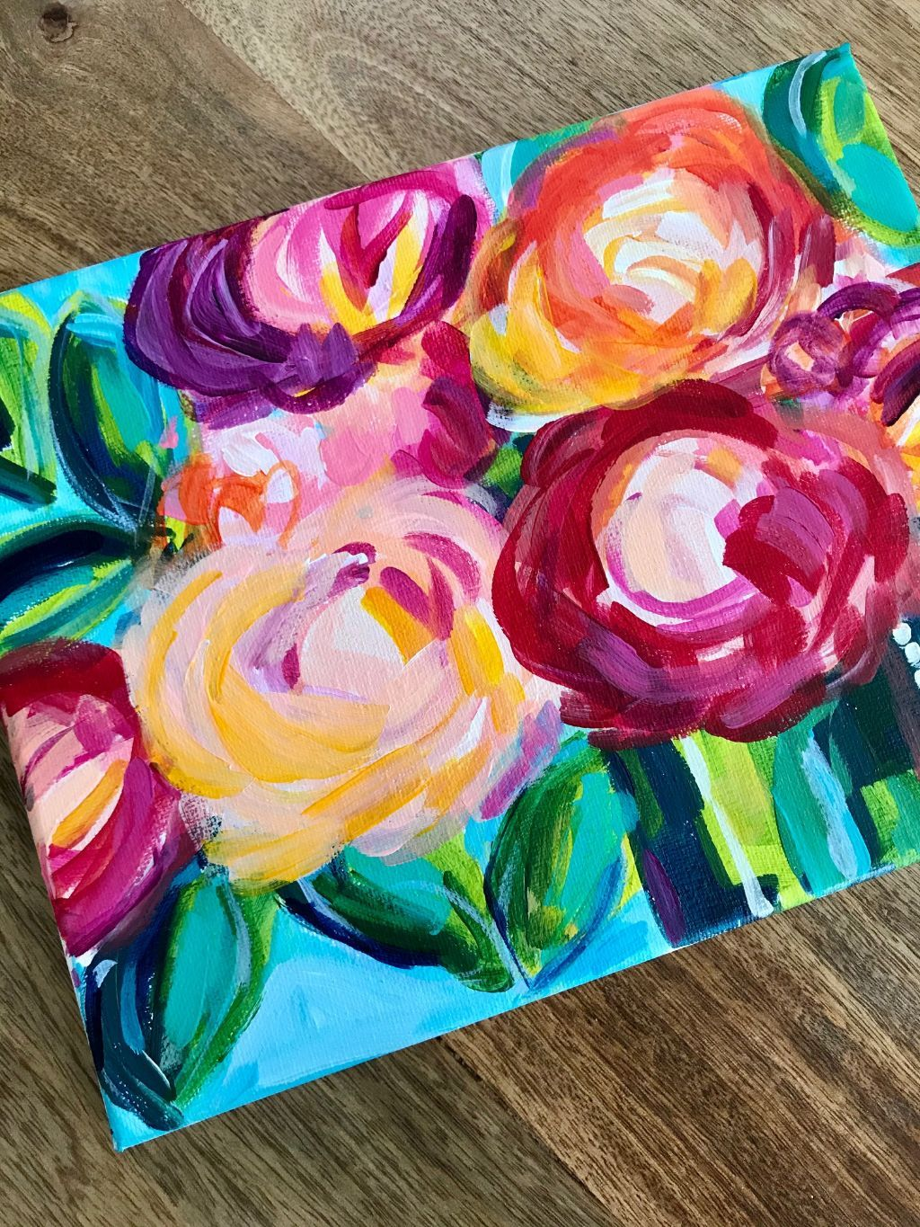 Easy flower painting ideas for beginners flower painting