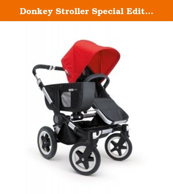 Donkey Stroller Special Edition Tailored Fabric Set Color: Red. 180111ZZ01 Color: Red Features: -Sun canopy and apron.-Material: Fabric.-Fits the Bugaboo Donkey only. Color/Finish: -Special edition colors.