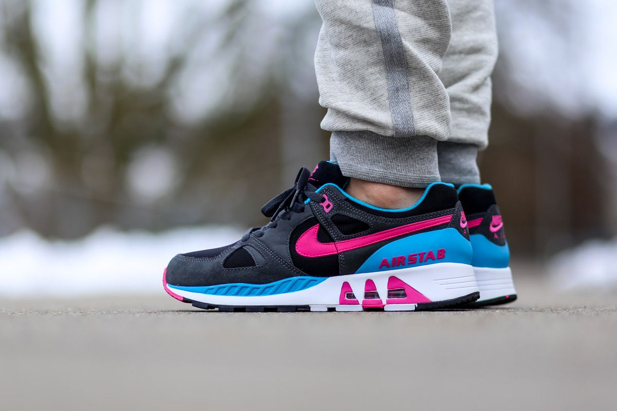 "Nike Air Stab ""Hot Pink & Blue Lagoon"""