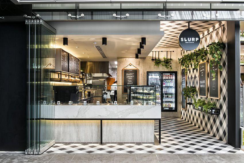 Local a cuadros slurp interior design restaurants for Local interior decorators