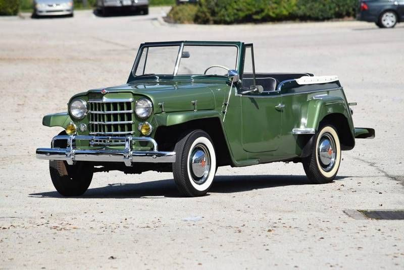 1950 Willys Jeepster For Sale 1918280 Hemmings Motor News