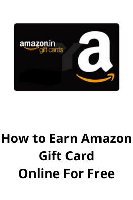 How To Earn Free Amazon Gift Cards Amazon Gift Card Free Amazon Gifts Amazon Gift Cards