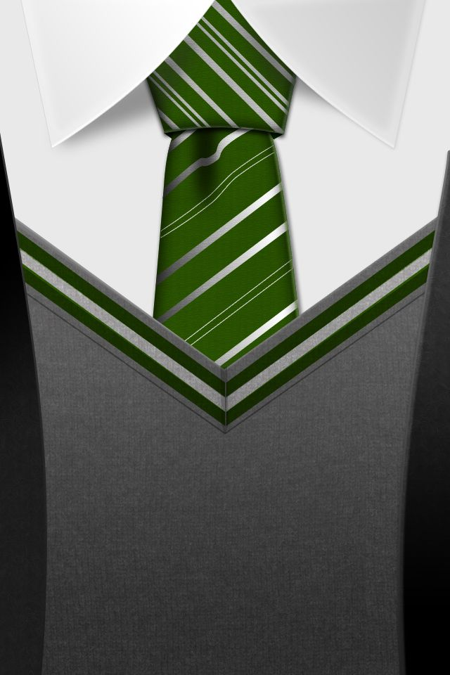 Slytherin Tie Hd Iphone Wallpaper By Tinsdar On Deviantart All Houses Available So Cute Com Imagens Wallpapers Geeks Arte Do Harry Potter Harry Potter