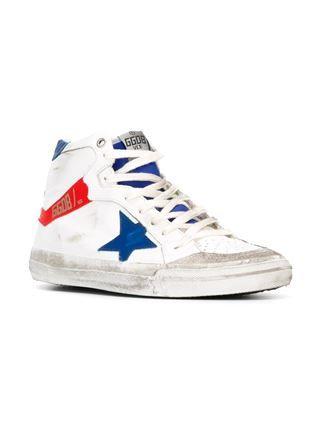 2.12 hi-top sneakers - Metallic Golden Goose bTFpllvlsX