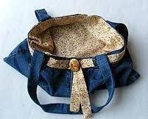 """Résultat de recherche d'images pour """"fabriquer un sac avec un vieux jeans"""""""