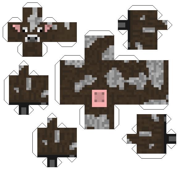 minecraft printout