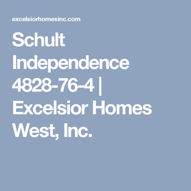 Schult Independence 4828-76-4   Excelsior Homes West, Inc