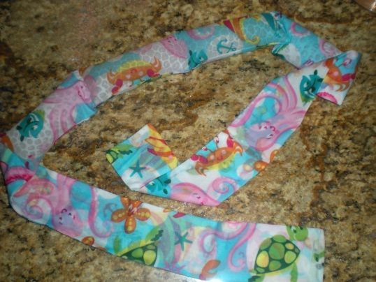 Make Your Own Cooling Neck Wrap Cooling Neck Wrap Neck Wrap