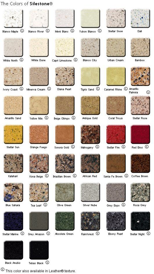 image gallery silestone colors 2015