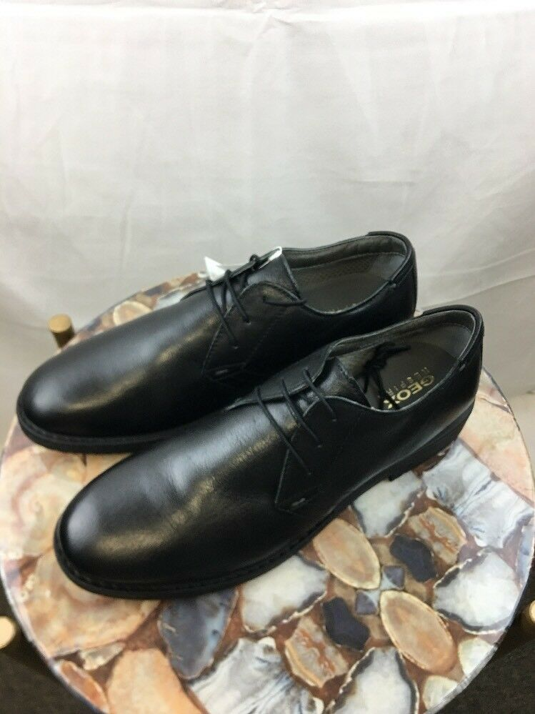 48f483d39a9b6 BRAND NEW Geox Respira Men's dress Shoes U743MB Black Leather US 12/UK 10.5  #fashion #clothing #shoes #accessories #mensshoes #dressshoes (ebay link)