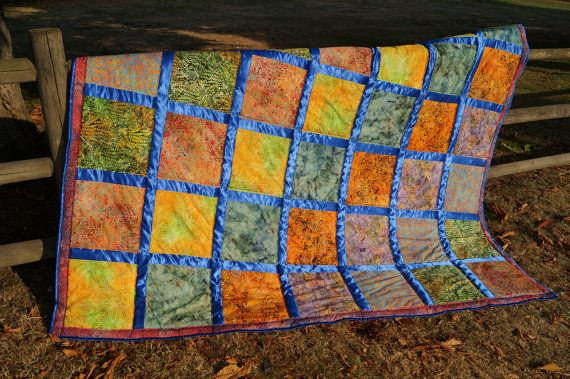 Made to ORDER Luxury Blanket Quilt Comforter Bali by TatiHouse