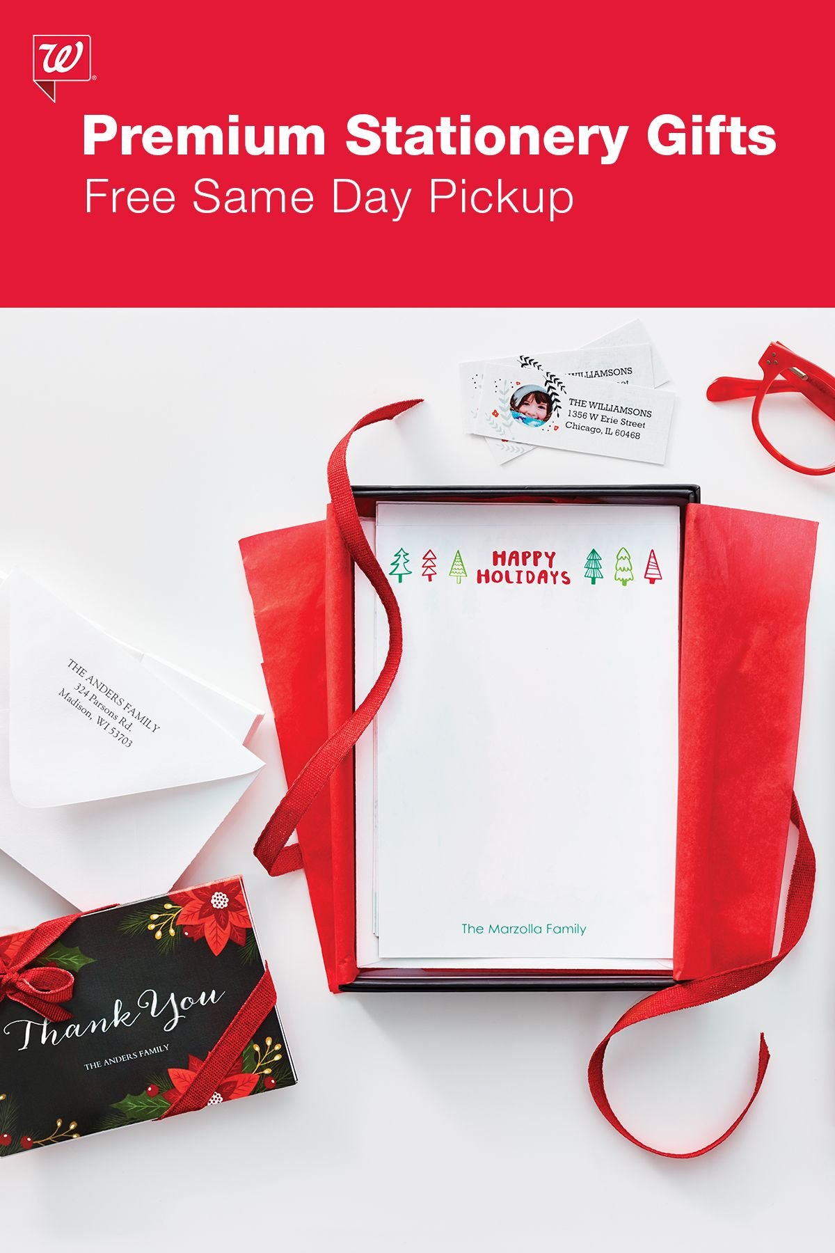 Give noteworthy gifts with personalized premium stationery