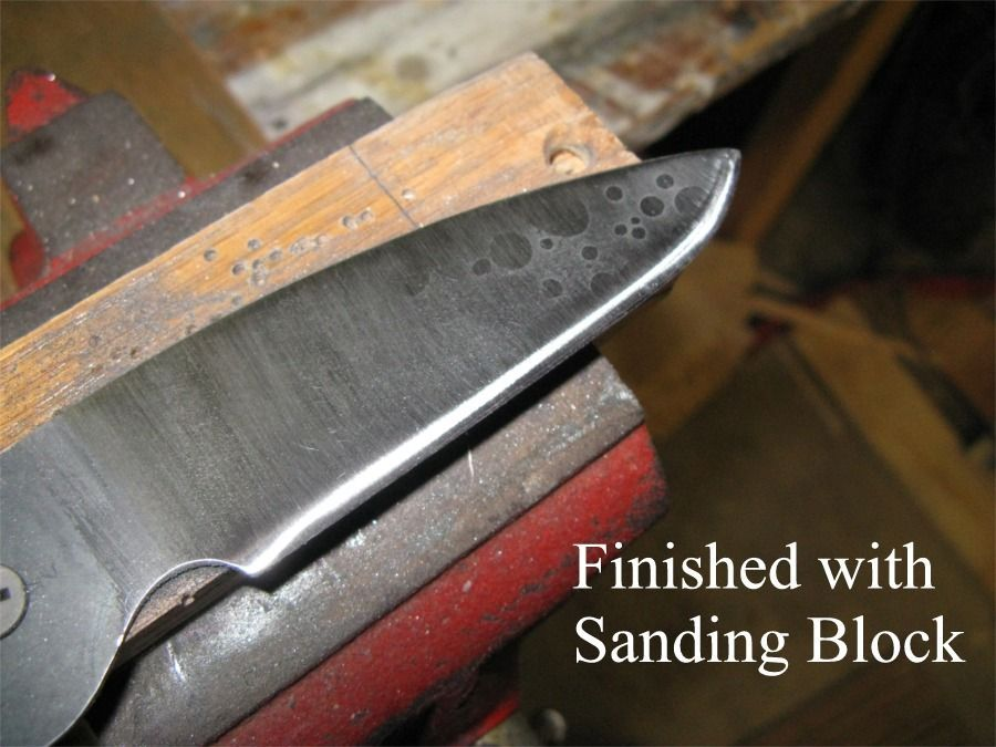 Hand made knife sharpening jig with images knife