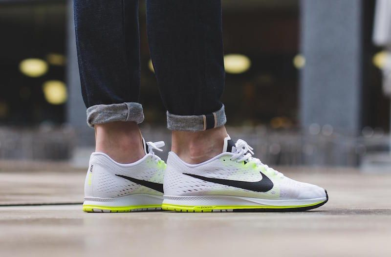 new styles f0cab b0738 An On-Feet Look At The Nike Zoom Streak 6 White Black Volt