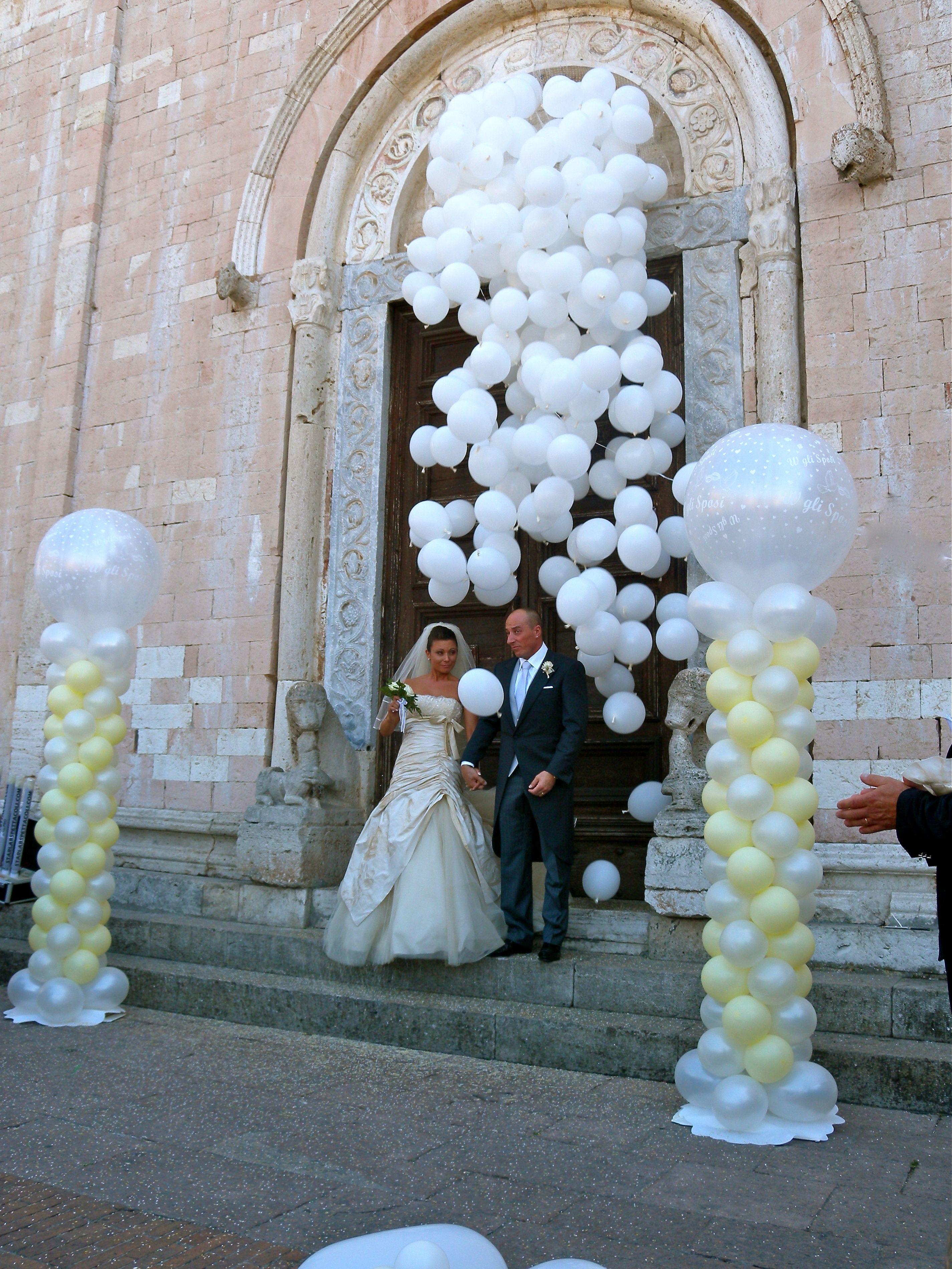 Cascata Di Palloncini Palloncini Matrimonio Palloncini Decorazioni Con Palloncini