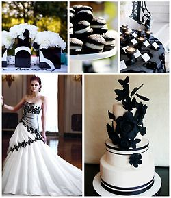 Classic Black And Whitethe Most Popular Wedding Color Scheme How Can You Go