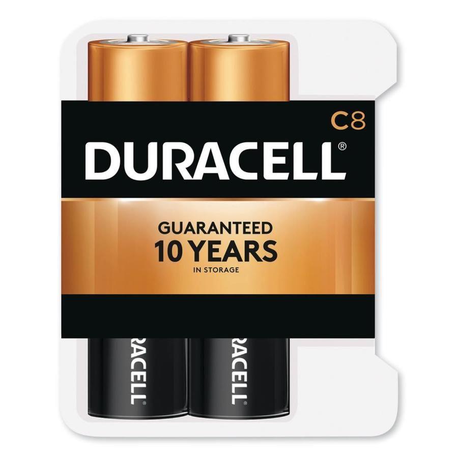 Duracell Coppertop Alkaline C Batteries 8 Pack Lowes Com In 2021 Duracell Alkaline Battery C Batteries