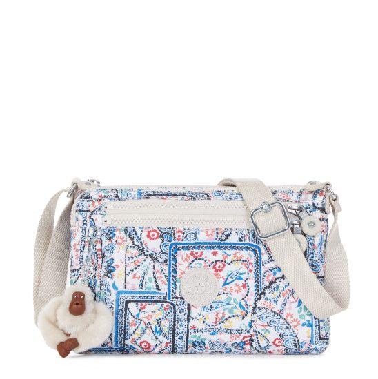 2a0bae85f Diane Printed Crossbody Bag - Lovely Day Neutral   Kipling