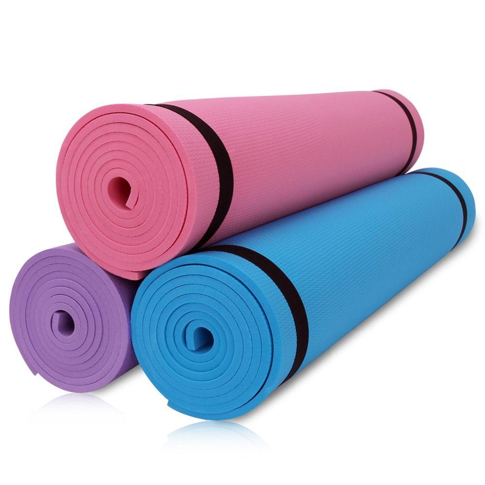 Candy Color Non Slip Yoga Mat Thick Yoga Mats Yoga Mats Best Relaxing Yoga
