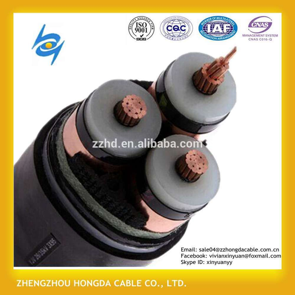 Price Of 11kv Earthed Stranded Circular Copper Xlpe 3core 240sqmm ...