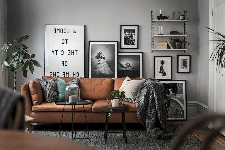 56 Stunning Modern Scandinavian Living Room Designs Livingroomideas Livingroomfurnit Living Room Scandinavian Scandinavian Design Living Room House Interior