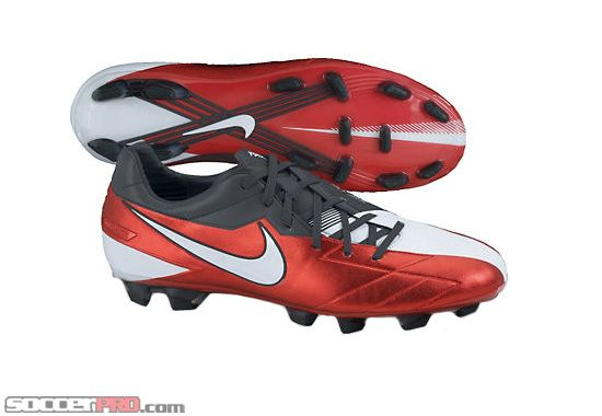 e0e573503 Nike T90 Laser KL Firm Ground Soccer Cleats - Challenge Red with Anthracite  and White... 219.99
