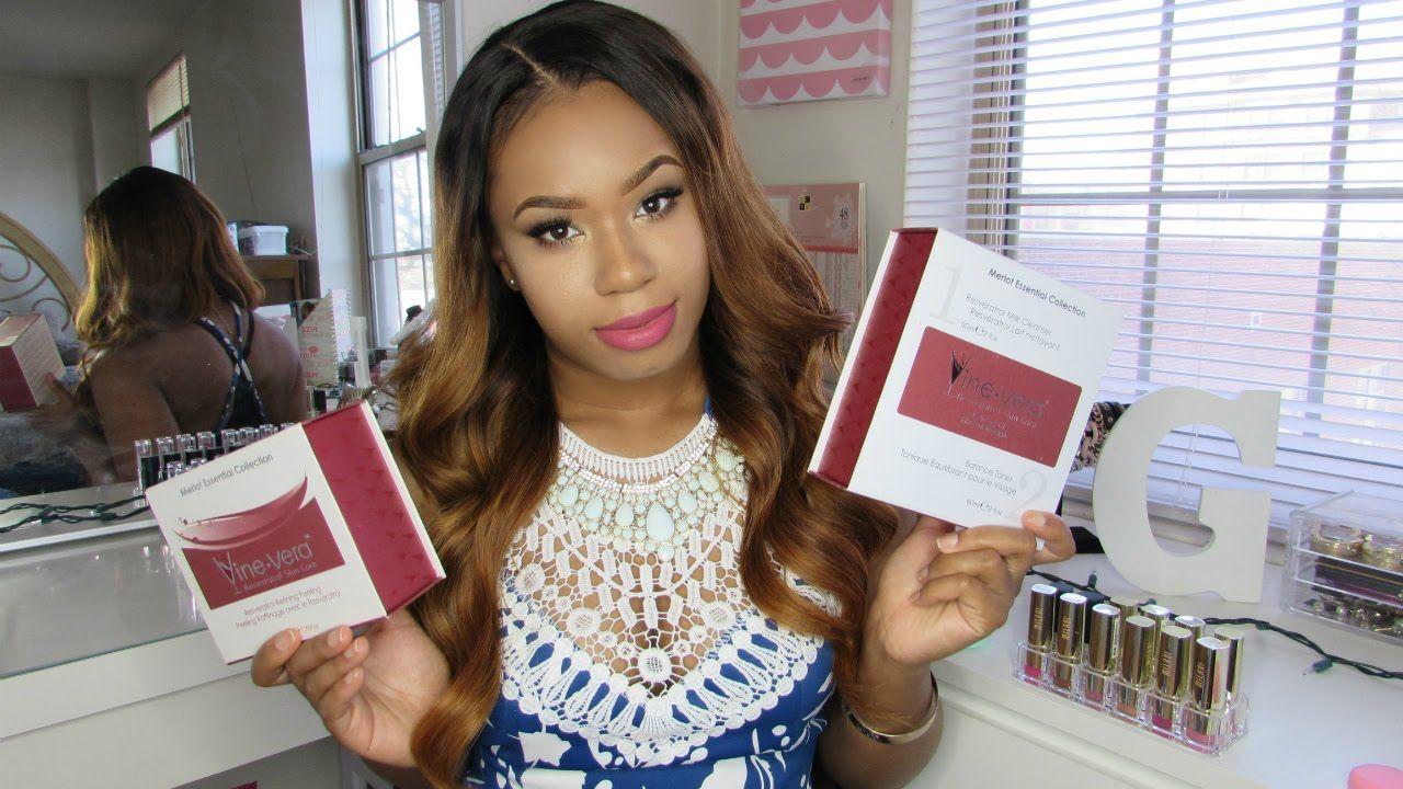 Beautybygenecia Vine Vera Merlot Collection Review Vine Vera Resveratrol Skin Care Vera