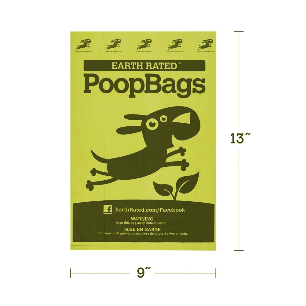 Earth Rated Poop Bags - 120 Count : Backcountry K-9