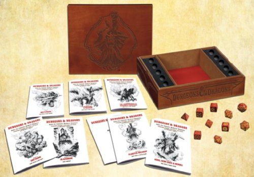 Premium Original Dungeons & Dragons Fantasy Roleplaying Game (D&D Boxed Game) by Wizards RPG Team
