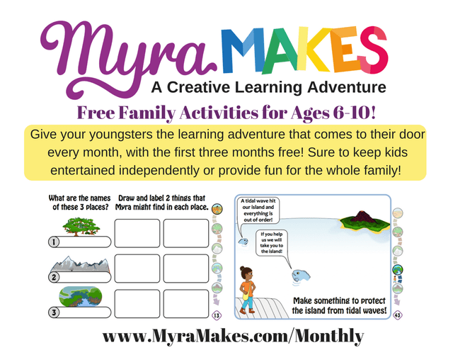 Problem Solving Activities - Myra Makes: Journey To Cloud